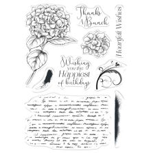 Crafters Companion Collage Stamps - Heartfelt Wishes