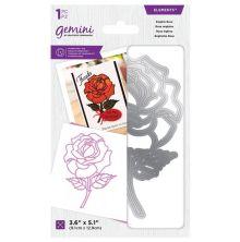 Gemini Elements Decorative Outline Die - English Rose