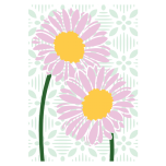 Crafters Companion Layering Stencils - Delicate Daisies